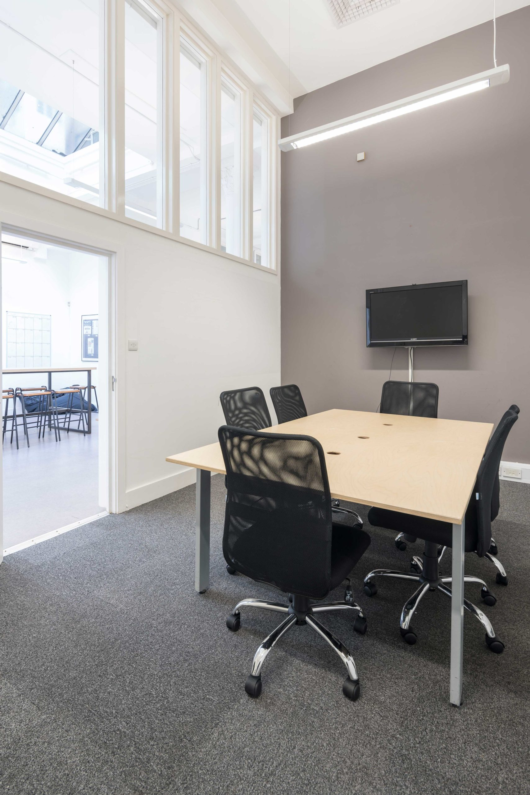Purpose Borough High Street Workspace - Ground Floor Meeting Room